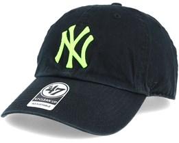 New York Yankees Clean Up Black/Green Adjustable - 47 Brand