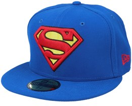 Character 59Fifty Basic Superman Blue Fitted - New Era