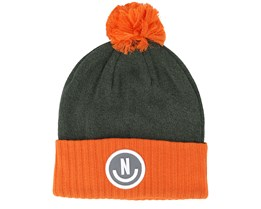 Therma Heather Juniper/Tangerine Beanie - Neff