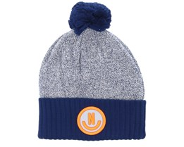 Therma Heather Navy Beanie - Neff