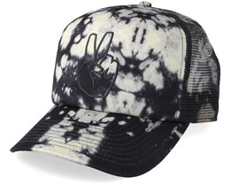 Peace Wash Grey/Black Trucker - Neff