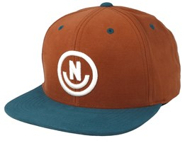 Daily Smile Fabric Clay/Turquoise Snapback - Neff