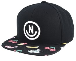Daily Smile Black Hot Tub Party Snapback - Neff