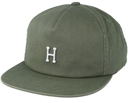 Washed Metal H Aloe Strapback - Huf