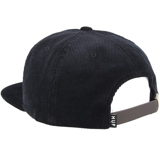 c445d5408 Case Closed Black Strapback - Huf