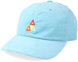 Corduroy 6 Panel Cloud Blue Adjustable - Huf