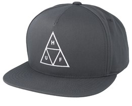 Essentials TT Charcoal Snapback - HUF