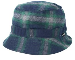 John Plaid Green/Navy Bucket - HUF
