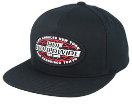 Unlimited Black Snapback - HUF