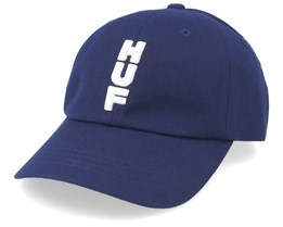Stacked CV Dark Navy Adjustable - HUF
