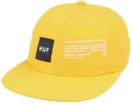 Offset 6 Panel Hat Golden Spice Snapback - HUF