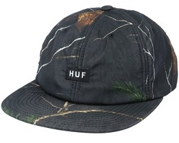6-Panel Realtree® Black Strapback - HUF