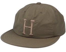 Formless Classic H 6 Panel Military Green Strapback - HUF