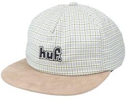 1993 Plaid Toffee Snapback - HUF