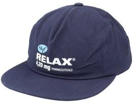 Relax Snapback Navy Blazer Snapback - HUF