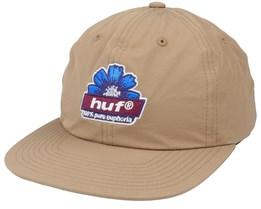 100% Pure 6 Panel Toffee Snapback - HUF
