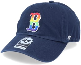 Boston Red Sox Pride Clean Up Navy/Rainbow Adjustable - 47 Brand
