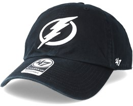 Tampa Bay Lightning Clean up Black Adjustable - 47 Brand