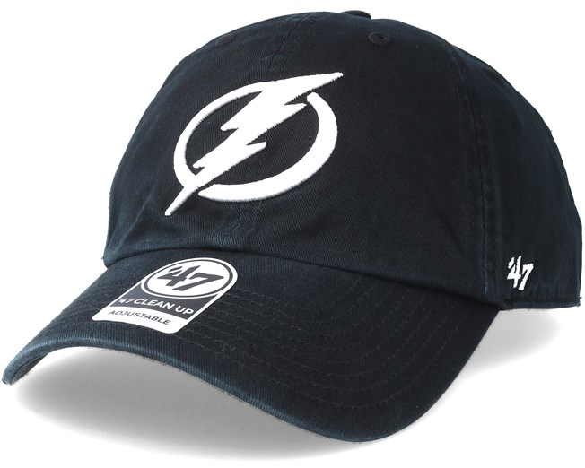 206bbdd0e03 Tampa Bay Lightning Clean up Black Adjustable - 47 Brand caps ...
