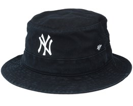 New York Yankees Black/White Bucket - 47 Brand