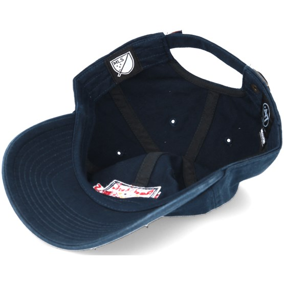 the best attitude 354ab f5024 New York Red Bulls Clean Up Navy Adjustable - 47 Brand caps -  Hatstoreworld.com