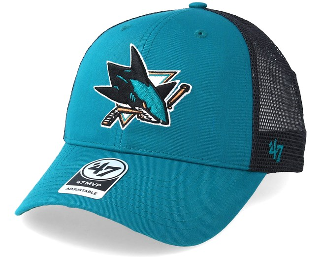 8ccb8dc3e923fc San Jose Sharks Branson Teal Trucker - 47 Brand caps | Hatstore.co.uk