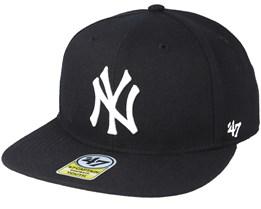Kids New York Yankees Youth No Shot 47 Captain Black Snapback - 47 Brand