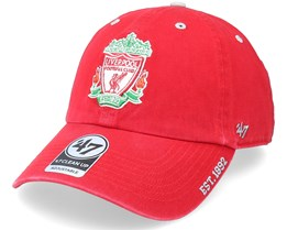 Liverpool FC Ice Clean Up Red Dad Cap - 47 Brand
