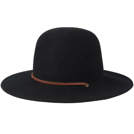 Hatt Tiller Black Fedora - Brixton - Svart Fedora