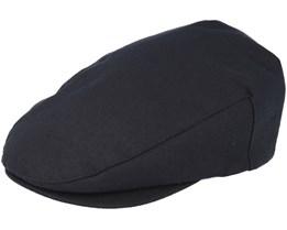 98a2a2fc7fa Hooligan Snap Black Flat Cap- Brixton
