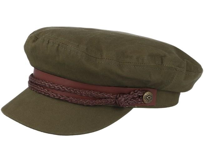 87c0ec13ab6 Fiddler Light Olive Cap - Brixton caps