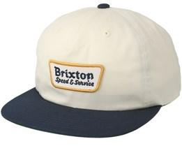 Compressor Off White Snapback - Brixton