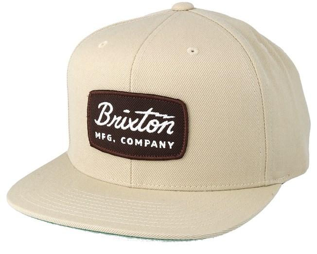 4ea284f220f7e Jolt Wheat Snapback - Brixton - Start Gorra - Hatstore