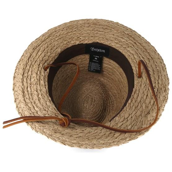 Levon Tan Fedora - Brixton hats - Hatstoreaustralia.com d89a8c86772