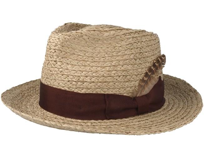 a07b45b071e Crosby Tan Fedora - Brixton hats - Hatstoreaustralia.com