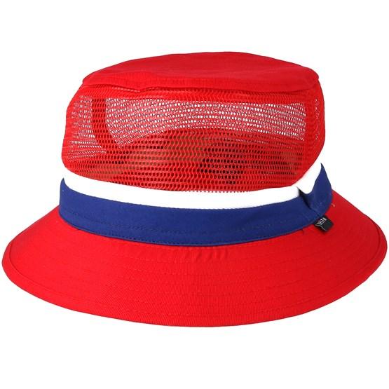 Hatt Kids Lil Hardy Red/Navy Bucket - Brixton - Röd Barnkeps