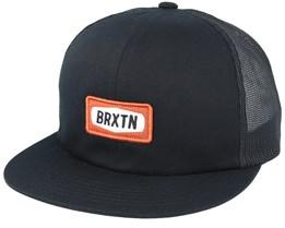 Rockford Mesh Black Trucker - Brixton