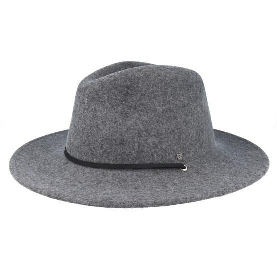 Hatt Field Hat Light Heather Grey Traveller - Brixton - Grå Traveller