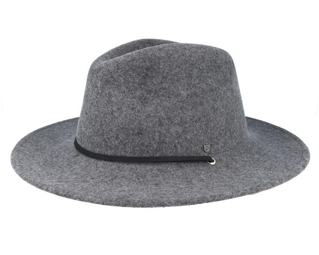 Field Hat Light Heather Grey Traveller - Brixton hats -  Hatstoreaustralia.com f79bcbf4398e