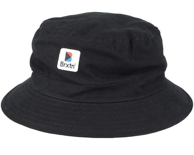 d39556ca0 Stowell Black Bucket - Brixton hats   Hatstore.co.uk