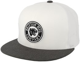 Forte Mp Mesh White/Heather Charcoal Trucker - Brixton
