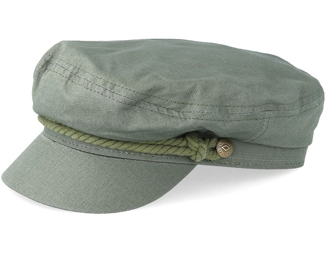 1f049c0dc9631 Fiddler LT Olive LT Olive Flat Cap - Brixton caps