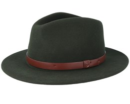Messer Hunter Green Fedora - Brixton