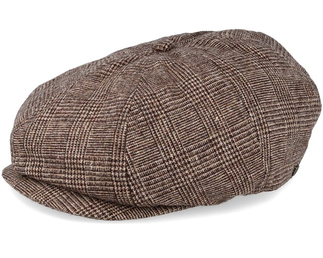 Brood ADJ Brown Tan Snap Cap - Brixton - Start - Hatstore.es ea82a977784
