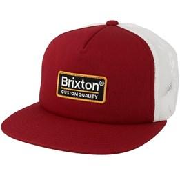 b079d4d9a57e1 Palmer Mesh Grey Trucker - Brixton caps