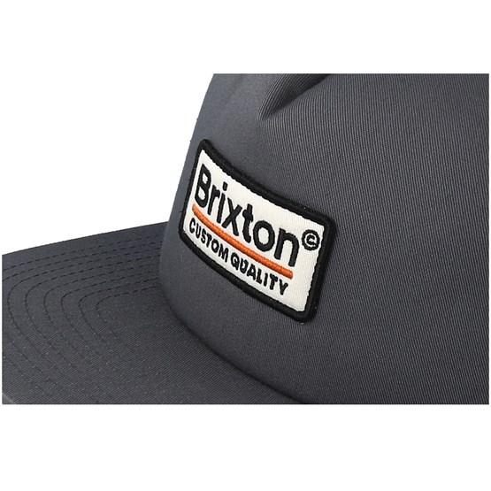 6c8e9748e9e38 Palmer Mesh Grey Trucker - Brixton caps - Hatstoreaustralia.com