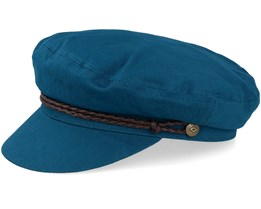Ashland Orion Blue/Brown Flat Cap - Brixton