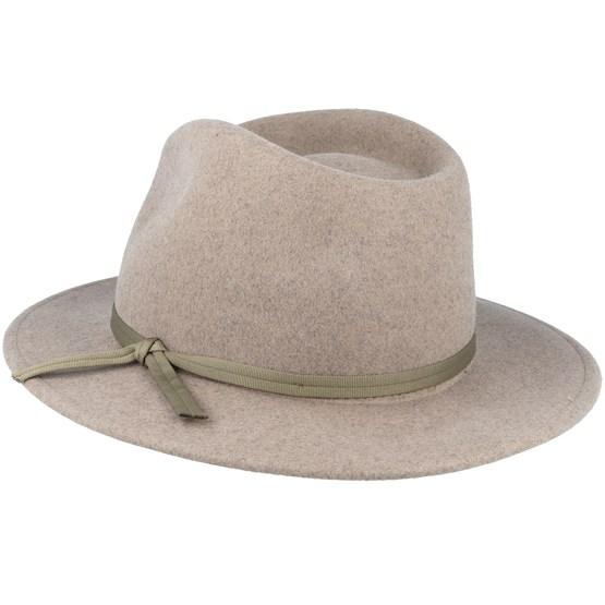 650d82c911bbc5 Coleman Heather Natural Fedora - Brixton hats   Hatstore.co.uk