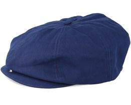 Brood Washed Navy Adjustable Snap Cap - Brixton