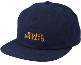 Revert MP Patriot Blue Snapback - Brixton
